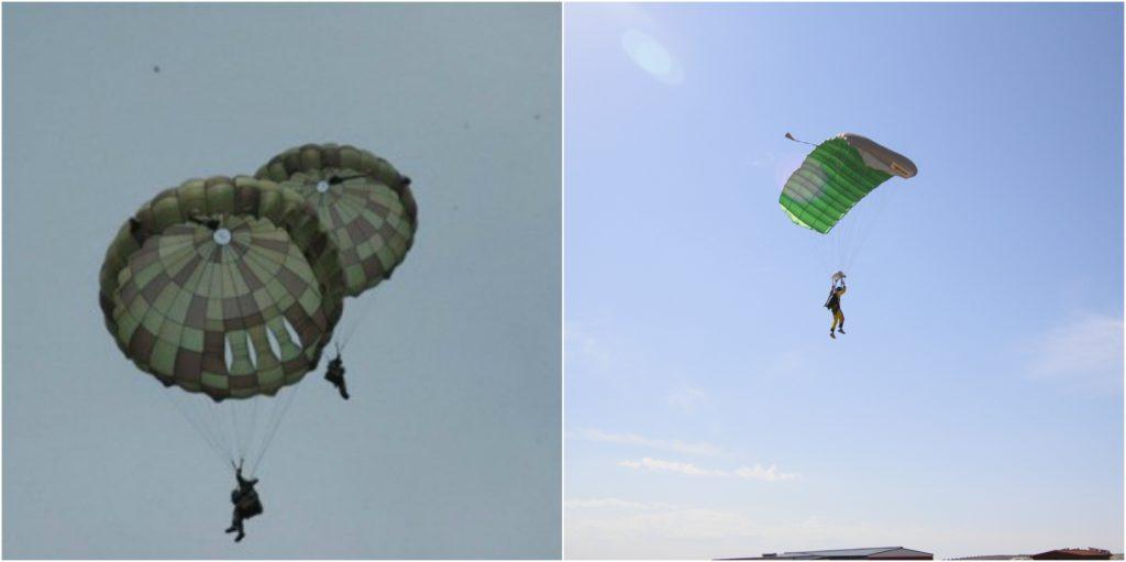 ejemplo tipos paracaidas